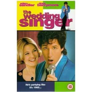 The Wedding Singer [VHS] Adam Sandler, Drew Barrymore