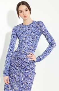 Nina Ricci Floral Print Jersey Top