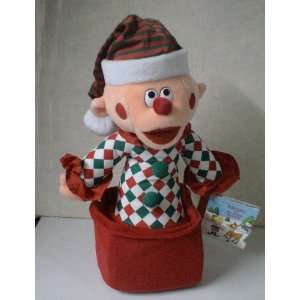 Rankin Bass Rudolph the Red Noses Reindeer Charlie in the Box Plush