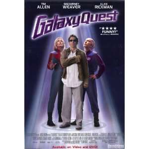 Galaxy Quest (1999) 27 x 40 Movie Poster Style B