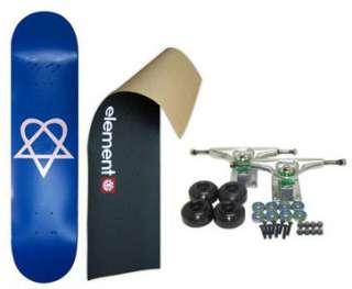 ELEMENT Skateboard LOGO Grip HEARTAGRAM COMP. 7.75 BLUE