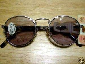 Foster Grant Silver Metal Reading Sunglasses +2.75 New
