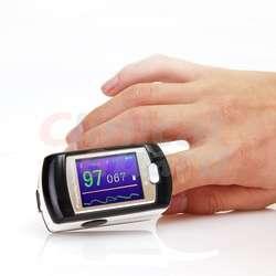Pantalla OLED Dactilar Oxímetro de Pulso para Dedo, Gratis Estuche