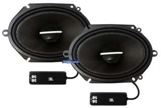 P8662 JBL 6 x 8 PRO 2 WAY POWER COAXIAL SPEAKERS CROSSOVERS BUILT IN