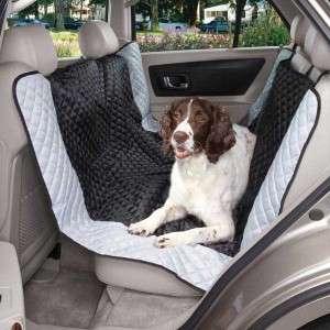 Guardian Gear Fairfield HAMMOCK Style Dog Car Seat Cover Black/ Blue