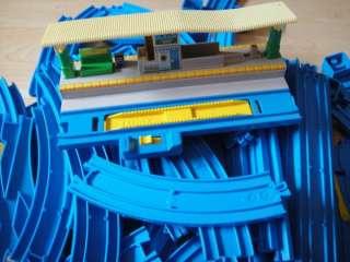 64~Tomy Thomas the Train Blue Tracks Plarail Lot