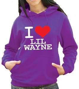 Love Lil Wayne Hoody   Any Colour Hoodie (1166)