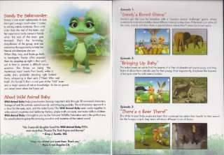 of each Wild Animal Baby DVD to education and conservation groups
