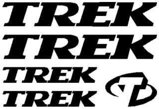 Trek Bicycles Mountain Bikes Sticker Decal Set of 5