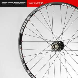 Edge Mountain Bike MTB Wheel Wheelset Disc Brakes Shimano 8/9/10s