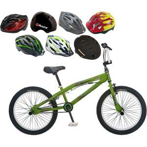 20 Hoop D Boys BMX Bike & Helmet Value Bundle