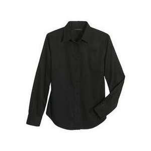 Lands END INC 313192 3x Womens 3 Extra Large Black Shirt