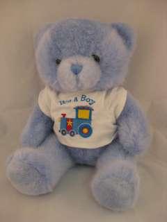 Plush Bear Stuffed Animal Toy 12P17 Baby Boy Nursery Teddy Bear