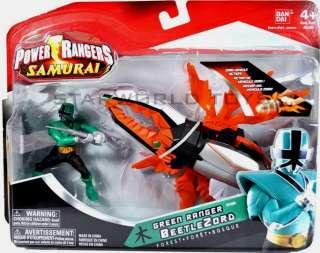 POWER RANGERS SAMURAI BEETLEZORD Green Ranger Forest NIP Bandai MMPR