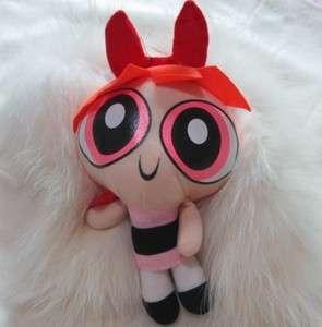 Cartoon Network The Powerpuff Girls Plush Toy Soft 9 Doll Blossom