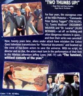 Galaxy Quest (VHS, 2000) Tim Allen, Sigourney Weaver, Alan Rickman