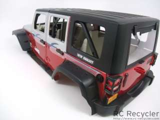 10 Jeep Wrangler Unlimited Body Axial SCX10 Scale Rock Crawler