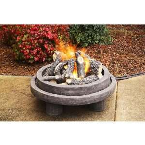 26 inch Portable Outdoor Propane Gas Fire Pit Patio, Lawn & Garden