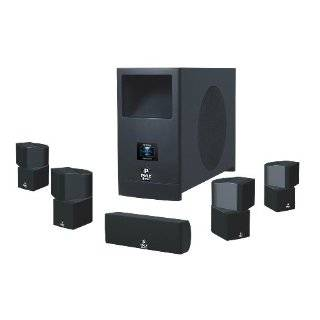 Pyle Home PHSA5 5.1 Home Theater System With Active Subwoofer and Five