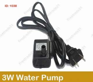 110V 3W Submersible Water Pump Fountain Pond Aquarium