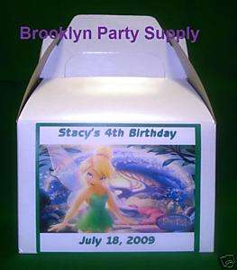 Tinkerbell & Peter Pan Birthday Party Loot Favor Boxes