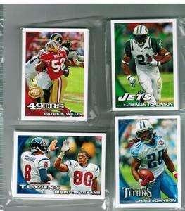 2010 Topps Football Dallas Cowboys Team Set 15 Cards Mint