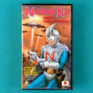 VHS NATIONAL KID CONTRA O IMPERIO SUBTERRANEO 60 BRAZIL