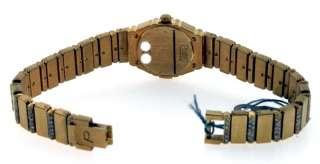 Piaget Polo, 18k Yellow Gold Ladies Diamond Watch.