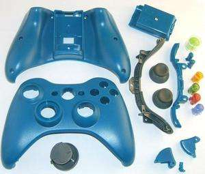 New Blue XBOX 360 Controller Case Shell Kit